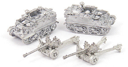 GHQ UK105 6 Pounder Anti-Tank Guns w/T-16 Carrier