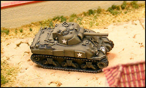 GHQ US97 M4A1 75mm Sherman - Modernised