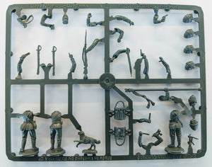 Perry Miniatures British Infantry in Afghanistan and Sudan command sprue