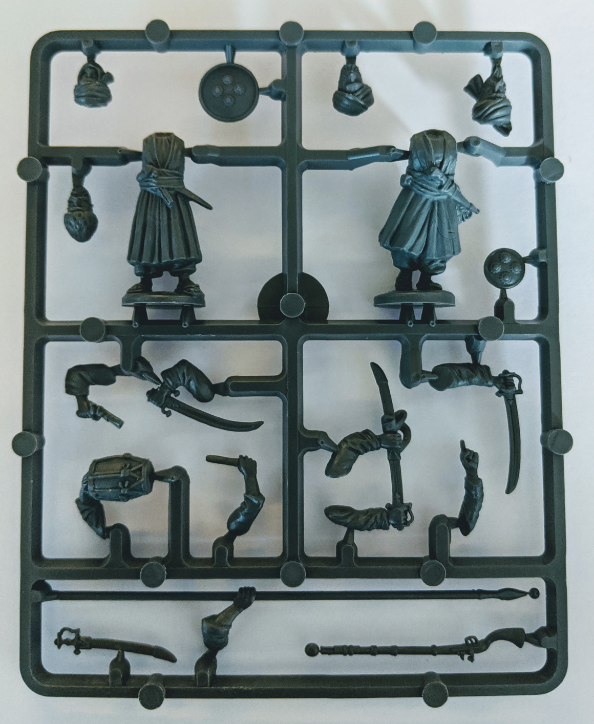 Perry Miniatures Afghan Tribesmen command sprue