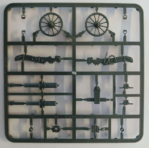 Victrix VX0017 28mm French Napoleonic Artillery 1804-12 Single Sprue