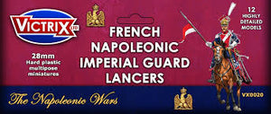 Victrix VX0020 28mm French Napoleonic Imperial Guard Lancers