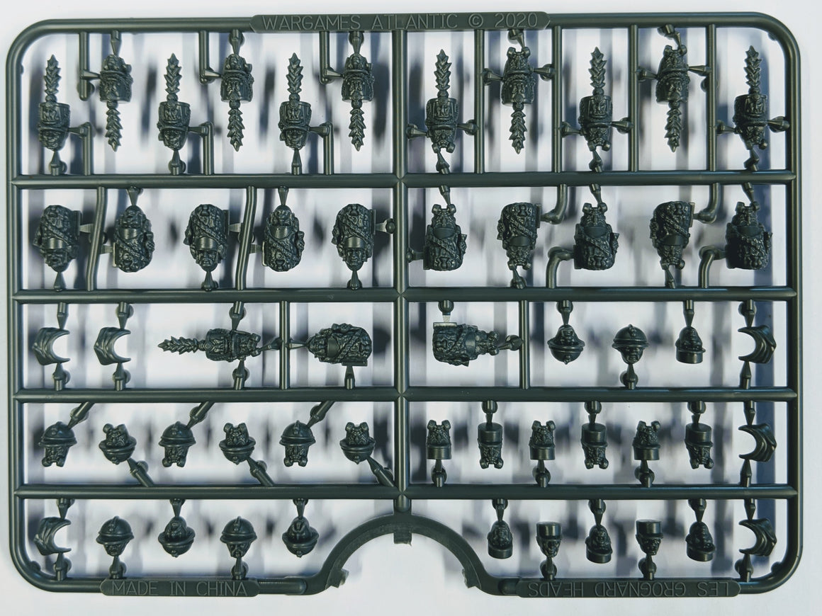 Les Grognards Heads Sprue
