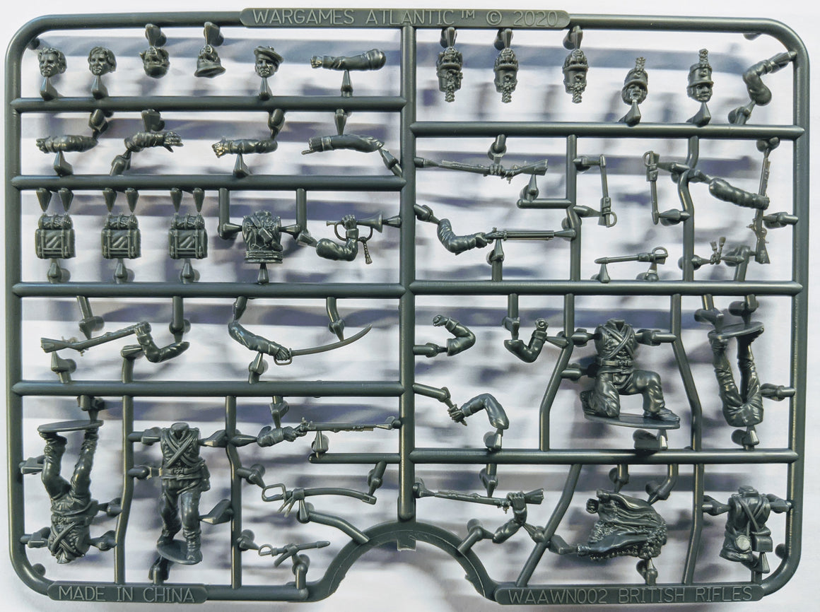 British Riflemen single sprue