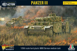 Bolt Action WWII Panzer III (plastic)