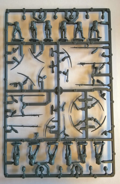 Perry Miniatures Plastic Wars of the Roses Infantry Sprue