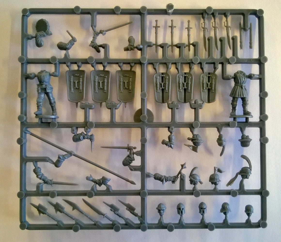 Perry Miniatures Plastic 'Mercenaries', European Infantry 1450-1500 Command Sprue