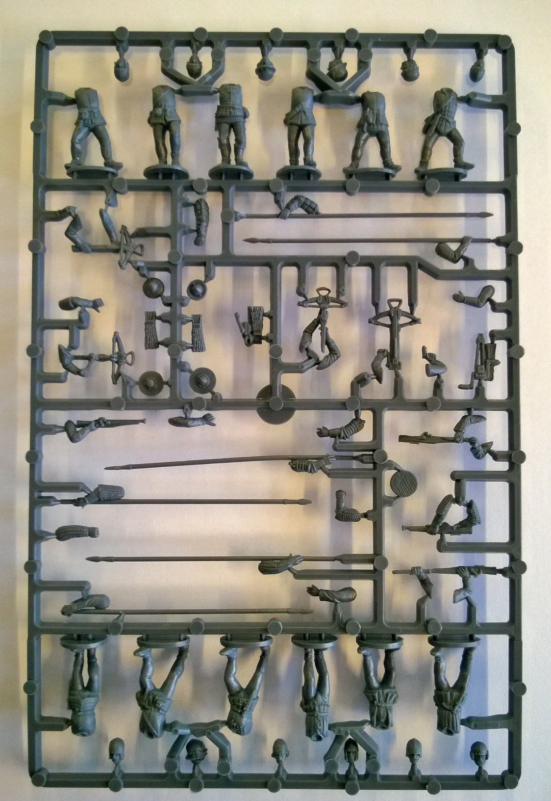Perry Miniatures Plastic 'Mercenaries', European Infantry 1450-1500 Sprue