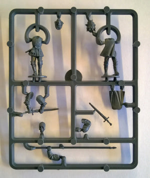 Perry Miniatures Foot Knights 1450-1500 Command Sprue