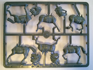 Perry Miniatures Agincourt Mounted Knights 1415-29 Sprue