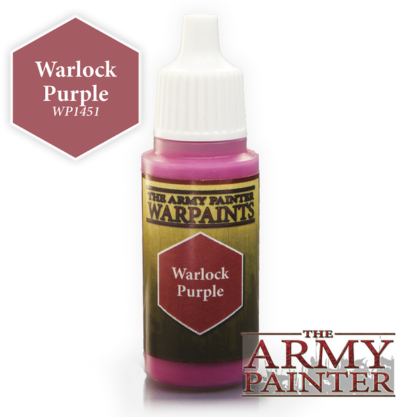 Army Painter Acrylic Warpaint - Warlock Purple