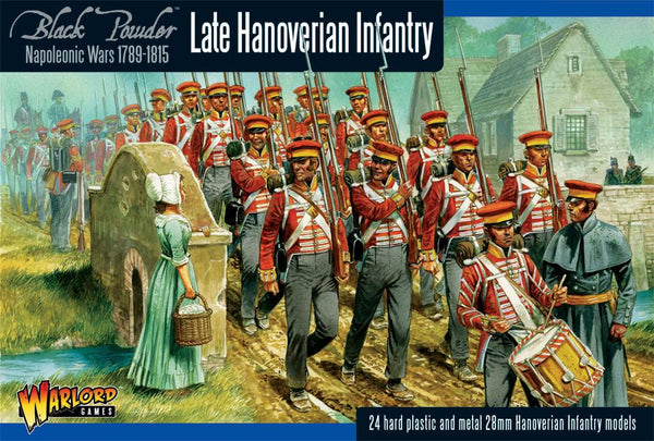 Black Powder Napoleonic Late Hanoverian Infantry