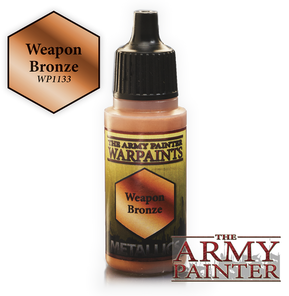Army Painter Acrylic Warpaint - Weapon Bronze