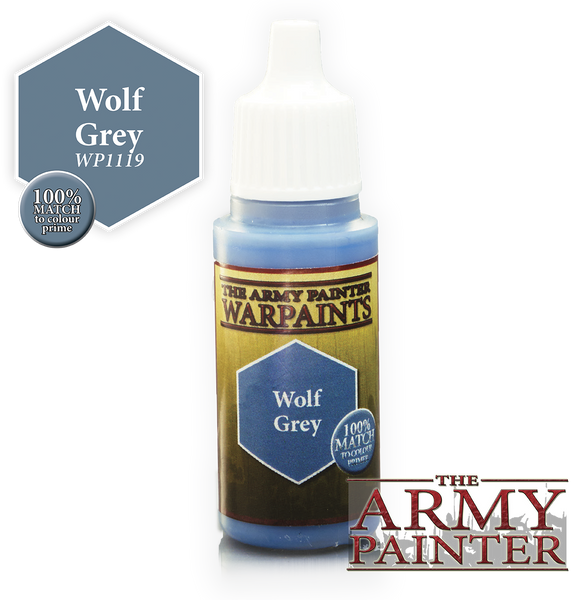 Army Painter Acrylic Warpaint - Wolf Grey