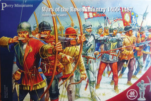 Perry Miniatures Plastic Wars of the Roses Infantry (bows and bills)