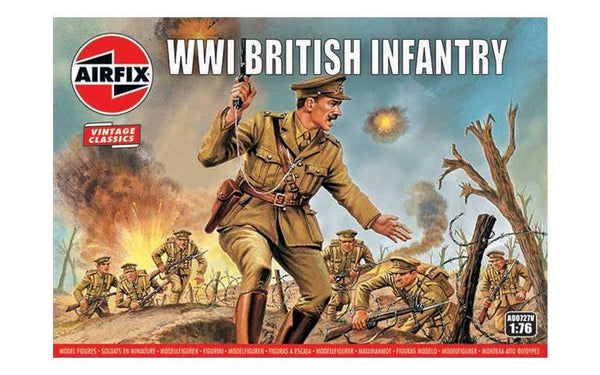 Airfix 1/76 WWI British Infantry