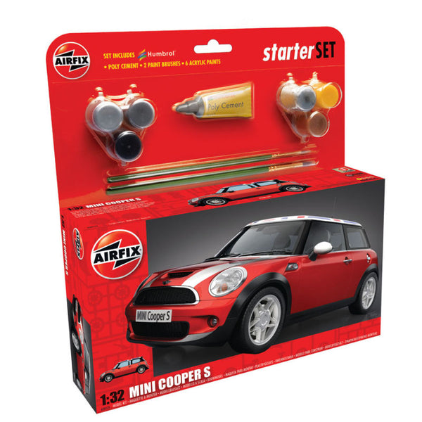 MINI Cooper S Starter Set - Red 1:32
