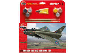 English Electric Lightning F.2A Starter Set 1:72
