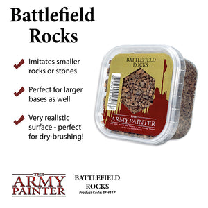 Army Painter Basing: Battlefield Rocks