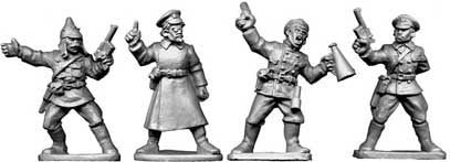 Copplestone Castings - Bolshevik Commissars (BC02)