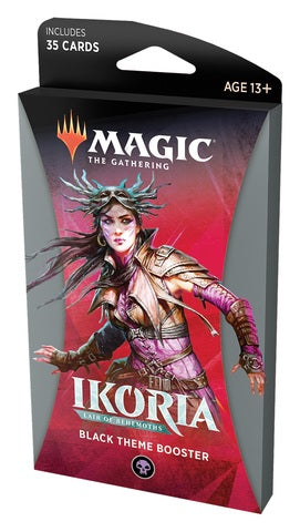 Magic: The Gathering - Ikoria- Lair of Behemoths Theme Booster - Black
