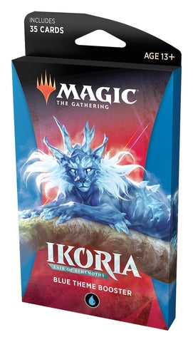 Magic: The Gathering - Ikoria- Lair of Behemoths Theme Booster - Blue