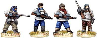 Copplestone Castings - Polar Adventurers (C01)