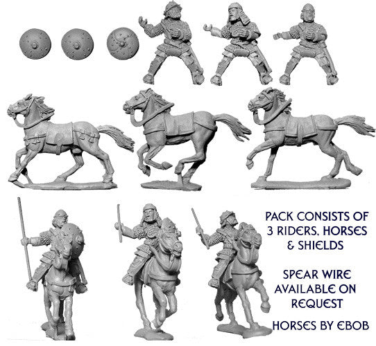 CAR004 - Carolingian Armoured Cavalry I