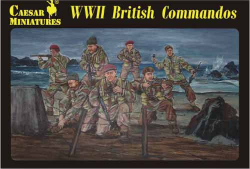 Caesar Miniatures CMH073 WWII British Commandos