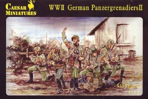 Caesar Miniatures CMH053 WWII German Panzergrenadiers Set 2