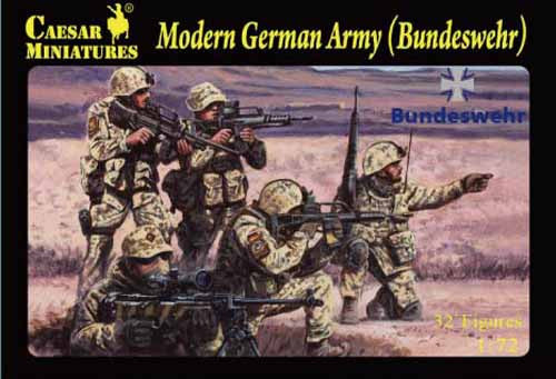 Caesar Miniatures CMH062 Modern German Army (Bundeswehr)
