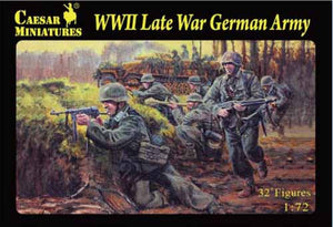 Caesar Miniatures CMH074 WWII Late War German Army