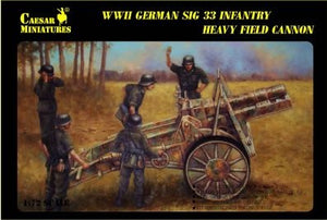 Caesar Miniatures CMH7202 German Infantry Gun SiG33
