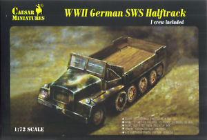 Caesar Miniatures CMH7210 WWII German SWS Halftrack
