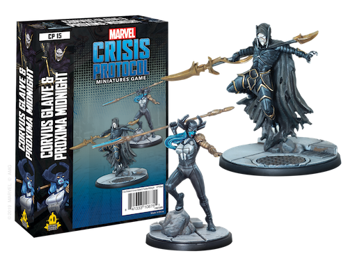 Marvel Crisis Protocol: Corvus Glaive and Proxima Midnight