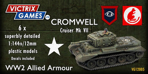 Victrix Cromwell Cruiser Mk VII 12mm/1:144 scale