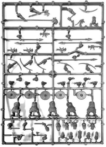 Oathmark Dwarf Infantry Single Sprue