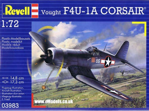 Revell 1/72 Vought F4U-1D CORSAIR