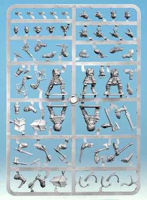 Frostgrave Demons Single Sprue