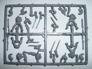 Perry Miniatures French Napoleonic Heavy Cavalry Sprue