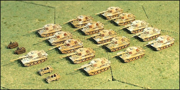 G153 German Tiger II Company