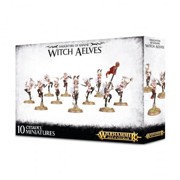 Warhammer Age of Sigmar : Daughters of Khaine Witch Aelves