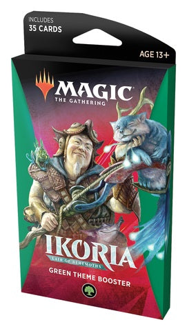 Magic: The Gathering - Ikoria- Lair of Behemoths Theme Booster - Green