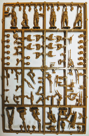 Perry Miniatures Afrikakorps German Infantry sprue
