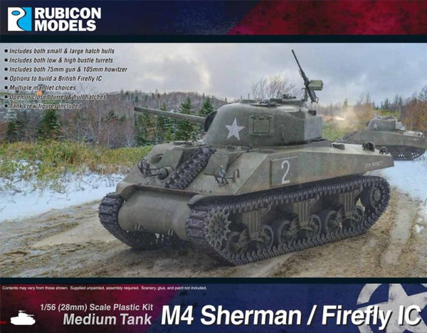 Rubicon Models M4 Sherman/Firefly IC
