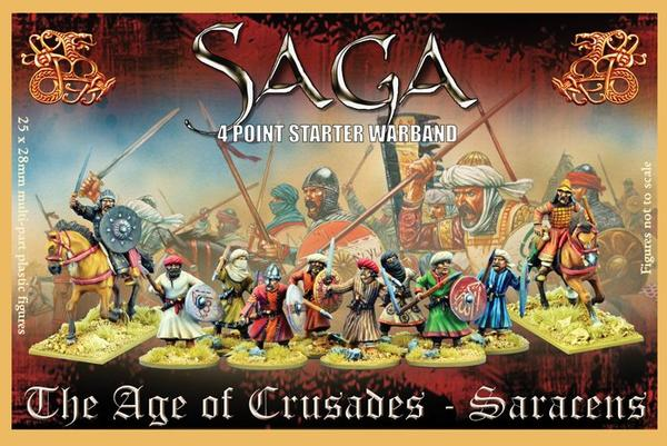 SAGA Saracen Starter Warband (4 points)