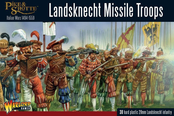 Pike & Shotte Landsknecht Missile Troops