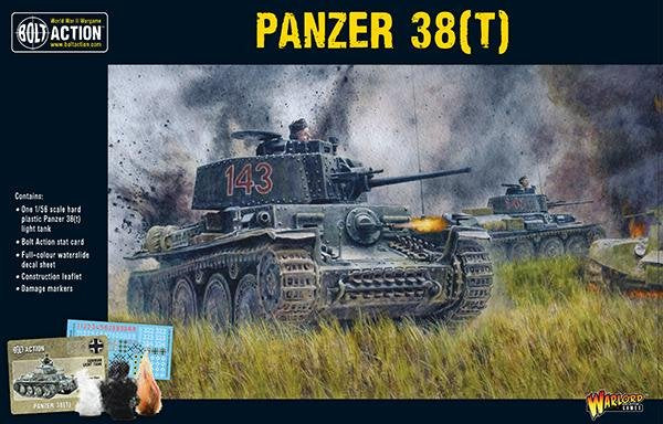 Bolt Action WWII Panzer 38(t)