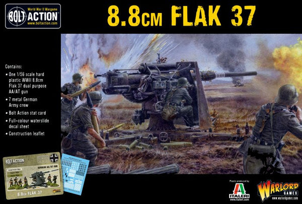 Bolt Action WWII Flak 37 8.8cm