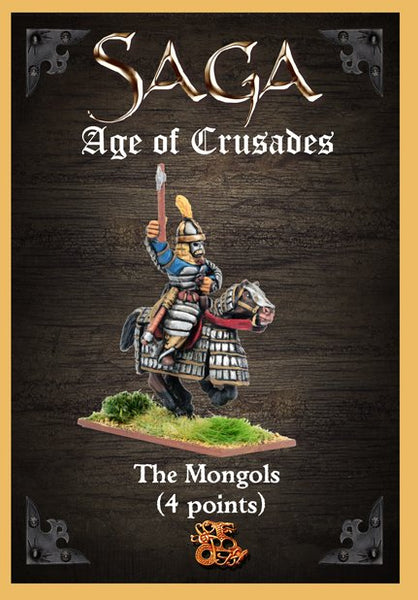 SAGA Mongols Starter Warband (4 points)